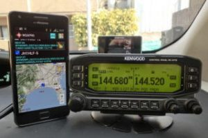 W2APRS and the Kenwood D710
